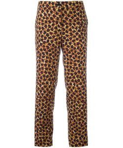 Etro | Printed Cropped Trousers 46 Wool