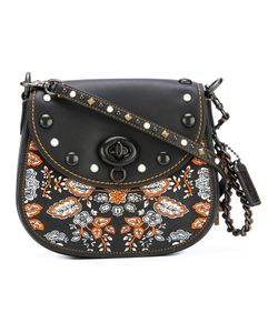 COACH | Embroidered Shoulder Bag