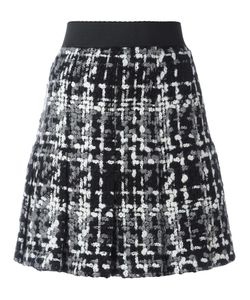 Dolce & Gabbana | Bouclé Knit Skirt 42 Silk/Cotton/Wool