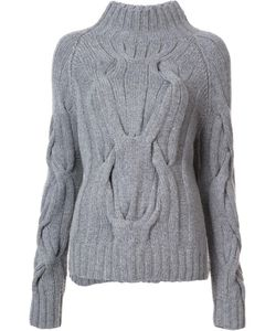 SALLY LAPOINTE | Cable Knit Jumper Xs/S Cashmere/Merino