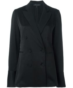 Rag & Bone | Double Breasted Blazer 4 Silk/Polyester/Triacetate