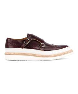 WHF WEBER HODEL FEDER | Weber Hodel Feder Herald Monk Shoes 44.5 Leather/Rubber