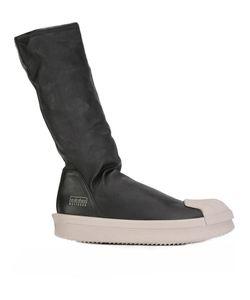 Rick Owens   X Adidas Sock Hi-Top Boots