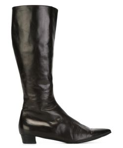 HELMUT LANG VINTAGE | Pointed Toe Boots 37.5
