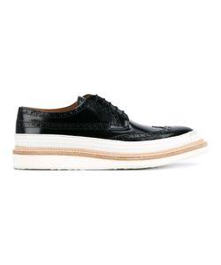 WHF WEBER HODEL FEDER | Weber Hodel Feder Hartford Brogue Shoes 44 Leather/Rubber