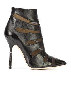 RACINE CARRÉE | Possesion Guest Ankle Boots 38.5 Eel