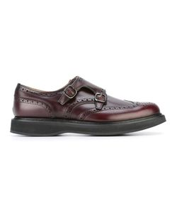 Church'S   Ans Monk Straps 10 Calf Leather/Leather/Rubber