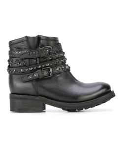 Ash | Tatum Ankle Boots 37 Leather/Metal/Rubber