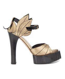 Vivienne Westwood   Aphrodite Beast Sandals 36 Goat Skin/Leather/Bullhide