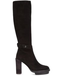Ann Demeulemeester | Camoscio Boots 37.5 Leather/Rubber