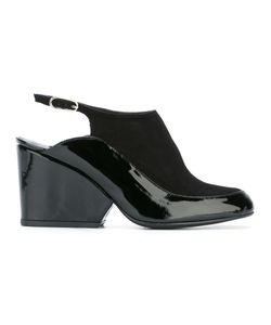 Robert Clergerie | Thilan Sandals 40 Leather/Patent Leather/Rubber