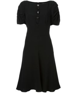 Marc Jacobs | Buttoned Flared Dress 4 Silk