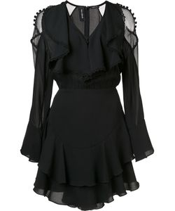 Yigal Azrouel | Ruffle Front Dress 6 Silk