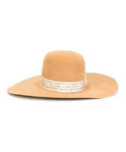NICK FOUQUET | Match Detail Hat Wool Felt