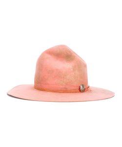 NICK FOUQUET | Brooch Detail Hat Wool Felt