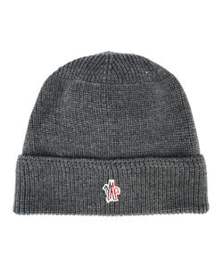 Moncler Grenoble | Logo Beanie Virgin Wool