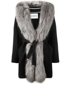 AVA ADORE | Fur Trim Coat 44 Acrylic/Acetate/Viscose/Raccoon Dog
