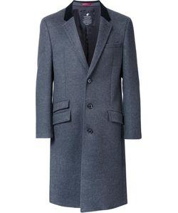 LOVELESS | Flap Pockets Mid Coat 1 Polyester/Rayon/Lambs Wool