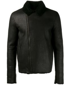 Lot 78 | Lot78 Shearling Lined Leather Jacket 48 Leather/Sheep Skin/Shearling