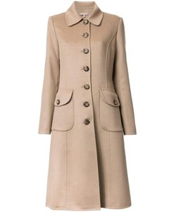 Michael Kors | Buttoned Mid Coat 4 Angora/Virgin Wool/Cashgora