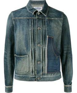 Neighborhood | Button Front Denim Jacket Large Cotton