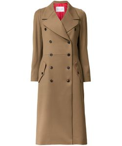 Sonia Rykiel | Double-Breasted Mid Coat 34 Virgin Wool