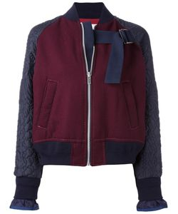 Sacai | Embroide Bomber 2 Cotton/Polyester/Cupro/Wool