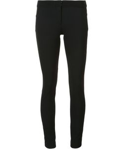Veronica Beard | Zip Up Skinny Trousers 6 Nylon/Spandex/Elastane