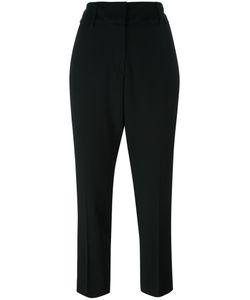 Dondup | Slim-Fit Cropped Trousers 38 Spandex/Elastane/Acetate/Viscose/Virgin Wool