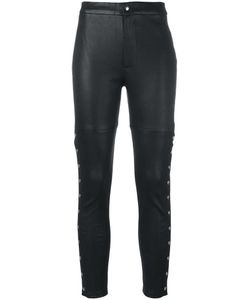 Iro | Skinny Leather Pants 36 Lamb Skin