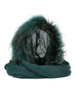 CHARLOTTE SIMONE | Fur Scarf Modal/Wool/Racoon Fur