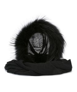 CHARLOTTE SIMONE | Fur Collar Modal/Wool/Racoon Fur