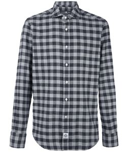 Hydrogen | Checked Shirt Large Cotton