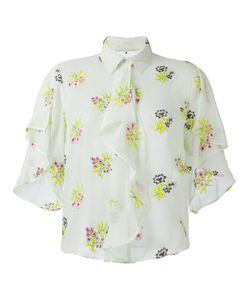 Marco De Vincenzo | Embroidery Shirt 42 Silk