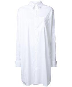 Jil Sander | Long Shirt 38 Cotton/Spandex/Elastane/Polyimide