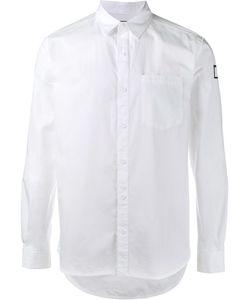 Neighborhood   Rear Print Casual Shirt Xl Cotton