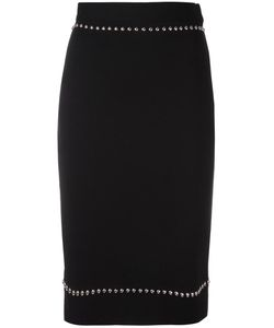 Givenchy | Studded Pencil Skirt Small Polyamide/Spandex/Elastane/Wool