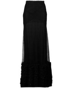 Amen | Lace Maxi Skirt 42 Nylon/Polyamide/Spandex/Elastane/Viscose
