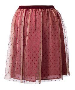Red Valentino | Tulle Mini Skirt 42 Cotton/Polyamide