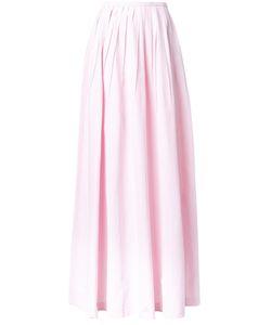 Michael Kors | Long Pleated Skirt 2 Silk/Cotton