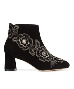 Sophia Webster   Patch Ankle Boots 39.5 Leather/Suede