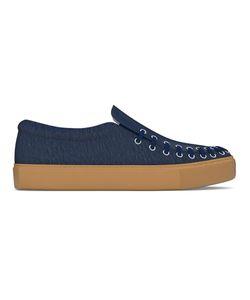 MYSWEAR | Conduit Slip-On Sneakers 38 Calf Leather/Nappa Leather/Calf