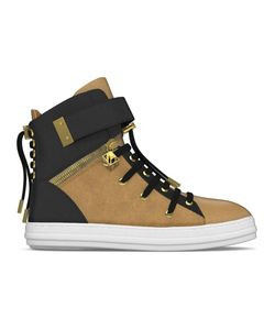 MYSWEAR | Regent Hi-Top Sneakers 42 Calf Leather/Nappa Leather/Suede/Rubber