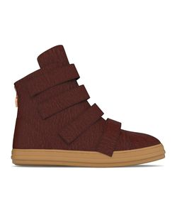 MYSWEAR | Bond Hi-Top Sneakers 46 Calf Leather/Calf Hair/Rubber