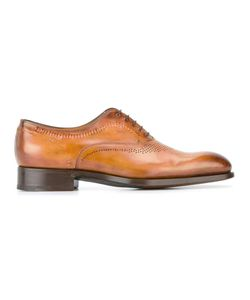 Santoni | Goodyear Sole Oxford Shoes 40.5 Leather