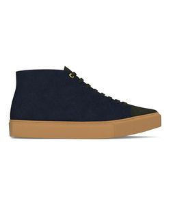 MYSWEAR | Carnaby Hi-Top Sneakers 41 Calf Leather/Suede/Rubber