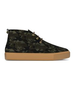 MYSWEAR   Maltby Mid-Top Sneakers 45 Calf Leather/Calf Hair/Rubber