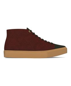 MYSWEAR | Carnaby Hi-Top Sneakers 43 Calf Leather/Suede/Rubber