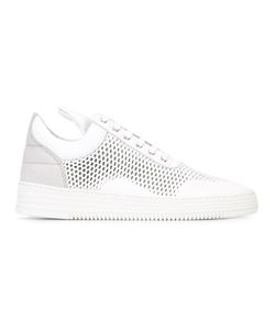 Filling Pieces | Mesh Low Top Sneakers 44 Leather/Rubber