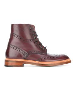 OLIVER SWEENEY | Wren Brogue Boots 7.5 Leather
